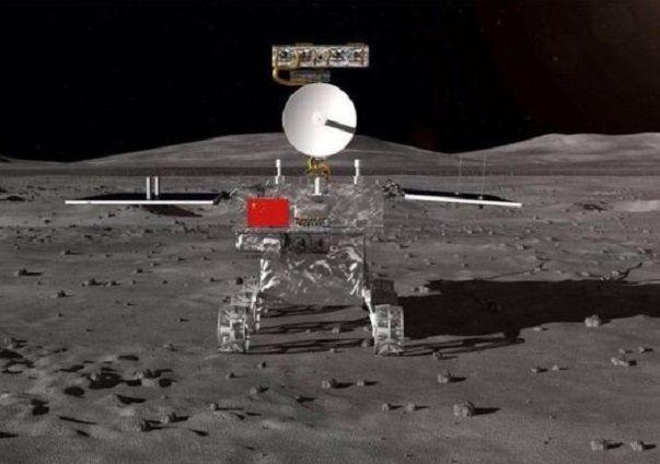 창어4호에 탑재된 탐사로봇 '광밍(光明)' 모습(사진=EPA연합뉴스)