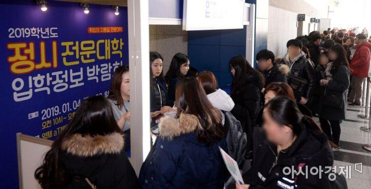 [포토] 2019학년도 정시 전문대학 입학정보 박람회