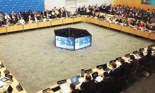 국제자금세탁방지기구(FATF) 회의 모습