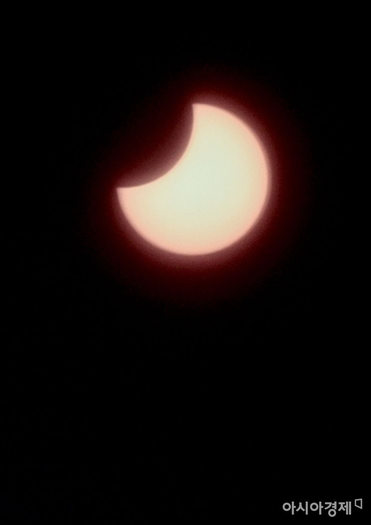 [포토] '달에 가려진 태양'