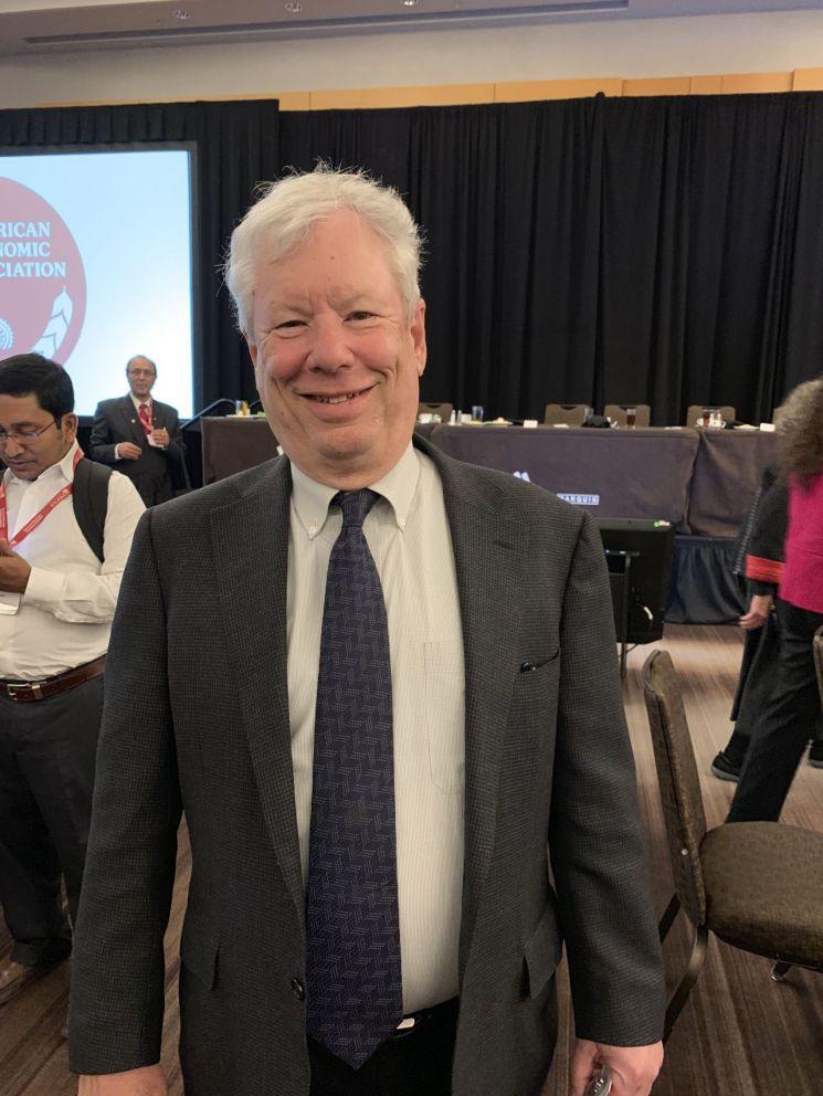 2017년 노벨경제학상을 받은 리처드 H. 세일러 시카고대 교수
