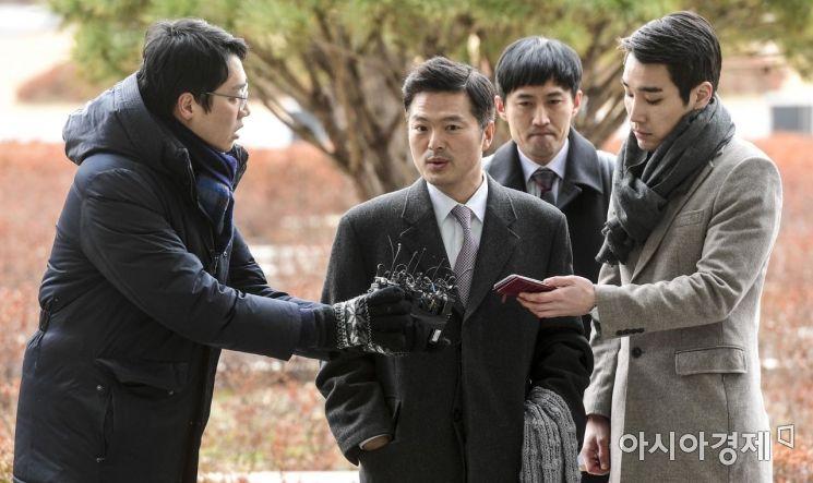 [포토] 김태우 수사관 참고인 조사