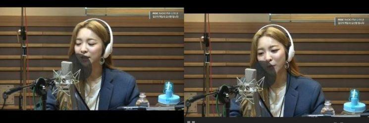'정오의 희망곡' 가수 루나 / 사진=MBC 보이는 라디오