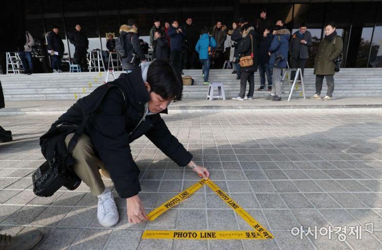 [포토] 양승태 전 대법원장 검찰 출석 'D-1'