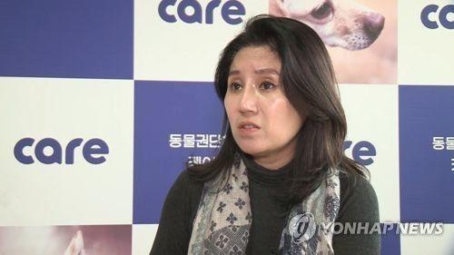 박소연 동물권단체 케어 대표 [이미지출처=연합뉴스]