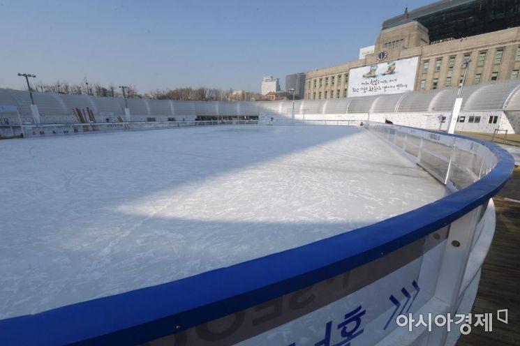 [포토]텅 빈 스케이트장