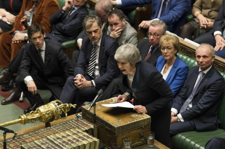 테리사 메이 영국 총리(이미지출처=AP연합뉴스)