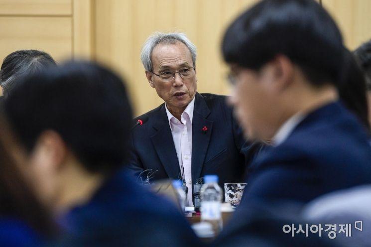 [포토]문성현 경제사회노동위원회 위원장 기자간담회