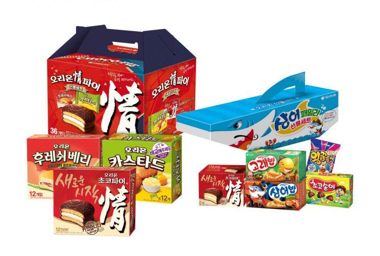 오리온, 설 맞이 '정' 나눔 선물세트 2종 온라인 판매