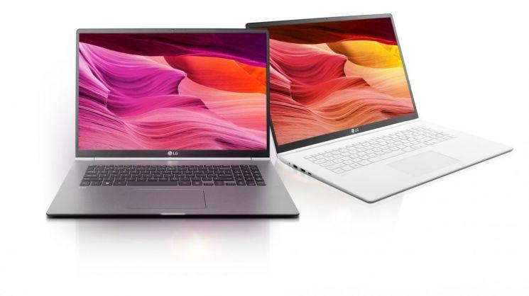 """LG 그램 17 기네스 등재…""""가장 가벼운 17인치 노트북"""""""