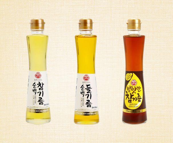 오뚜기, 프리미엄 전통 기름 '방앗간 참기름' 등 3종 출시