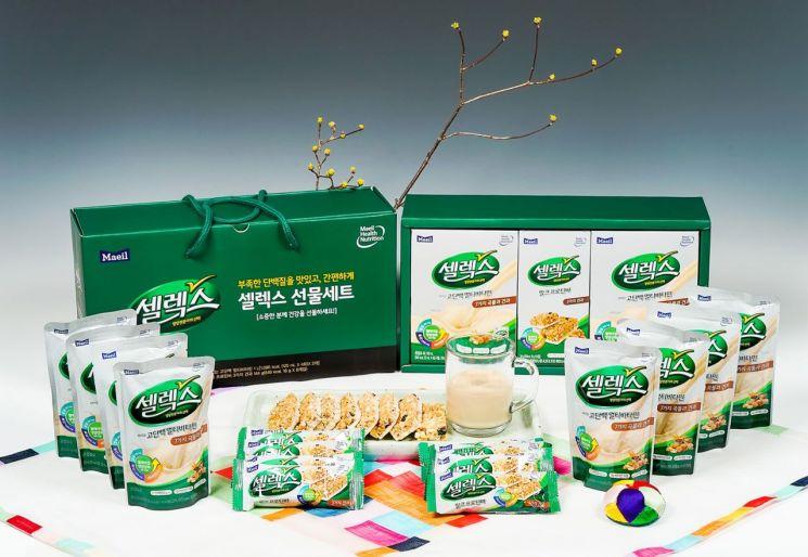 매일유업, 온 가족 영양강화 위한 '셀렉스 설 선물세트' 출시