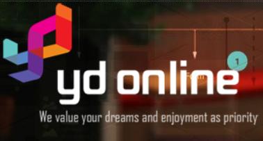 와이디온라인 공식 홈페이지 화면 캡처.
