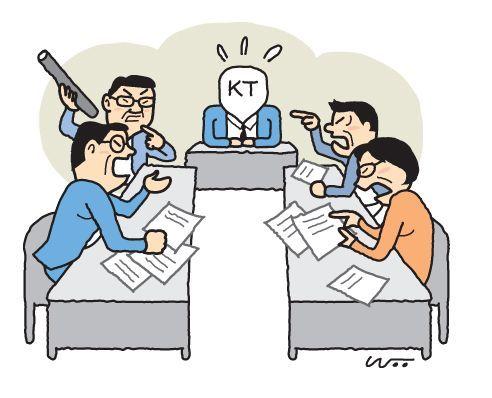 KT를 공기업이라는 A의원…물찬 맨홀에 호통치는 B의원