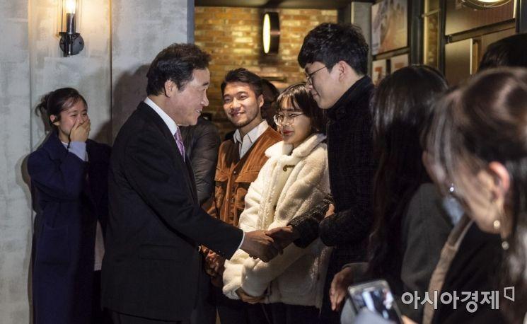[포토] 이낙연 총리, 영화 '말모이' 관람