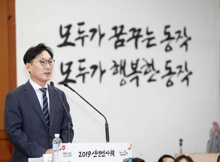 경찰, '성추행 혐의' 피소 이창우 동작구청장 불기소의견 송치