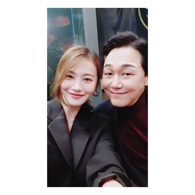 배우 유인영과 배우 박성웅/사진=유인영 인스타그램 사진 캡처