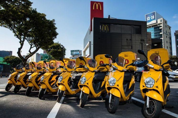 맥도날드, 2021년까지 모든 바이크 '무공해 친환경 전기바이크'로 교체