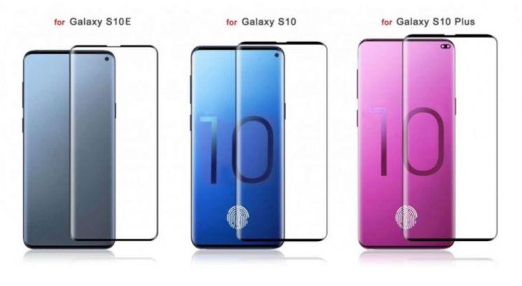 갤럭시S10 시리즈 컨셉 사진