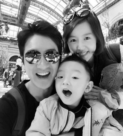 배우 정준호와 이하정 TV조선 앵커 가족 / 사진=이하정 인스타그램