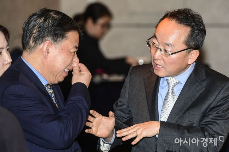 [포토] 한국 찾은 궈징 중국 국제환경협력사 사장
