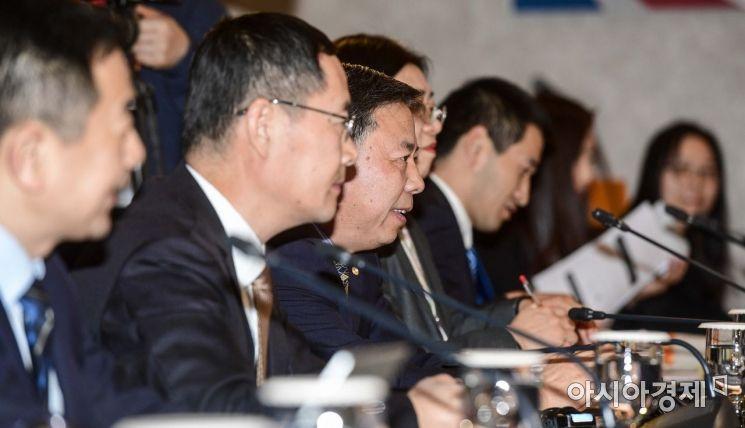 [포토]모두발언하는 궈징 중국 국제환경협력사장