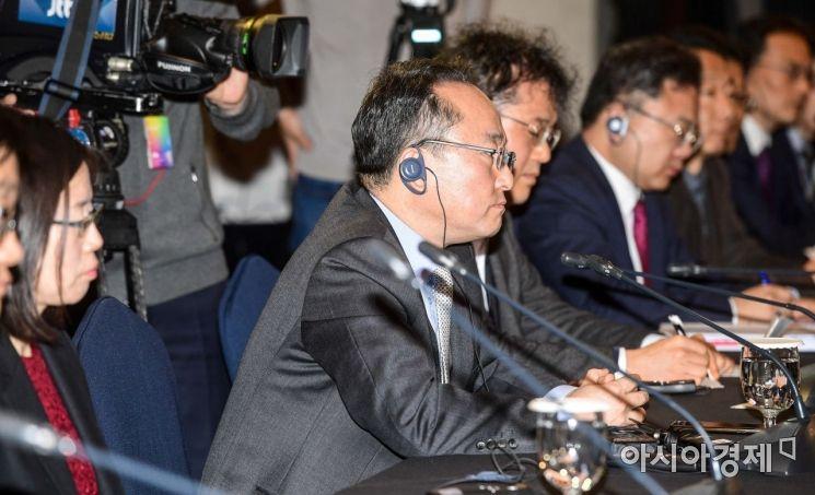[포토]한중 환경협력 국장회의 참석한 황석태 환경부 국장