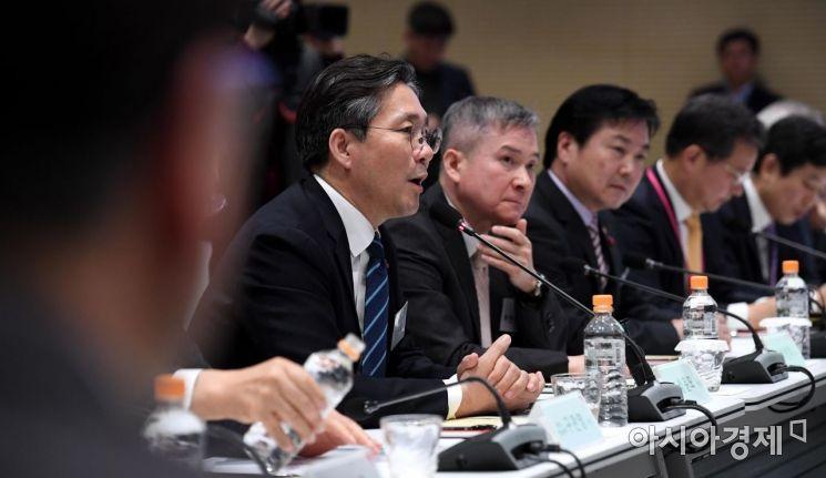 [포토] 발언하는 성윤모 산업부 장관