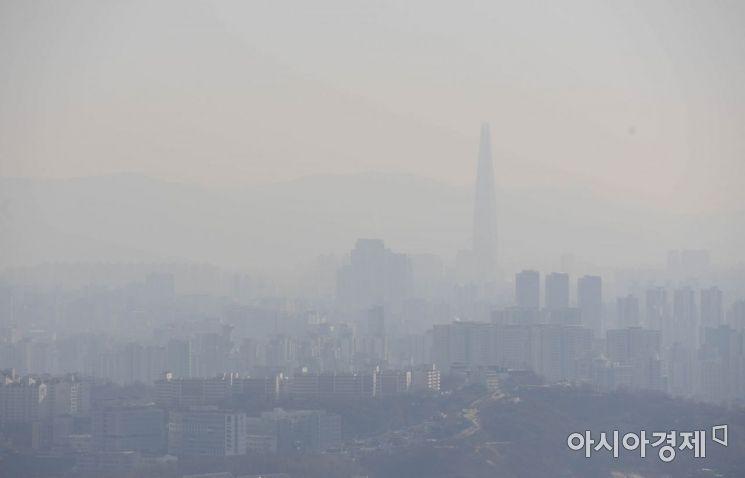 [날씨]30일 중부 등 전국 초미세먼지 '나쁨' 예보 많아