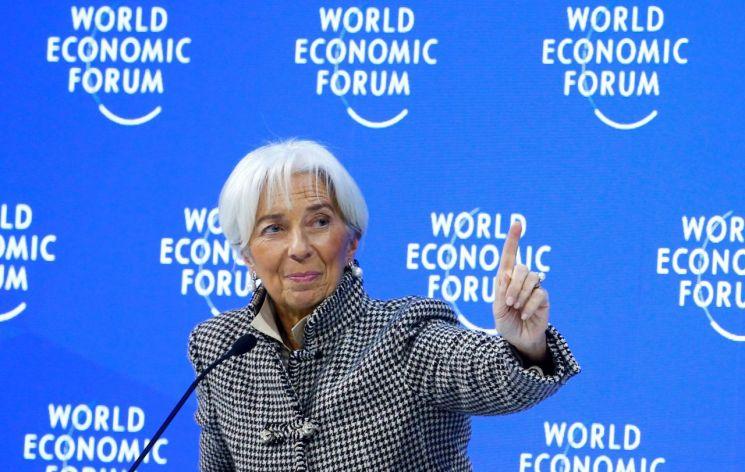 크리스틴 라가르드 국제통화기금(IMF) 총재 [이미지출처=로이터연합뉴스]