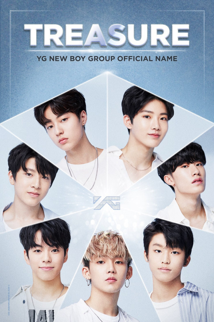 YG의 신인 그룹 '트레저' (사진=YG 제공