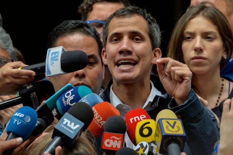 후안 과이도 베네수엘라 국회의장(사진출처=연합뉴스)