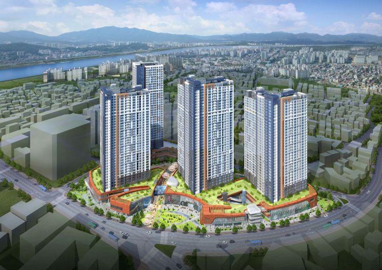 강동구 천호동 집창촌 자리에 40층 주상복합단지 조성