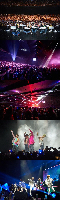 토론토 공연을 성료한 위너/사진=YG 제공