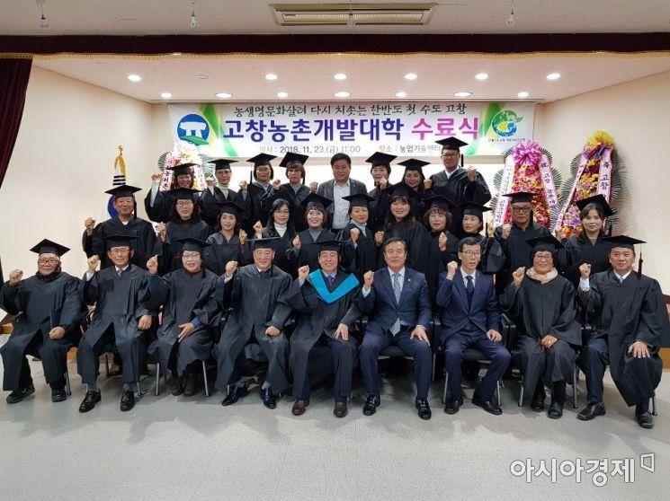 고창군, 농촌개발대학 신입생 모집…내달 21일까지