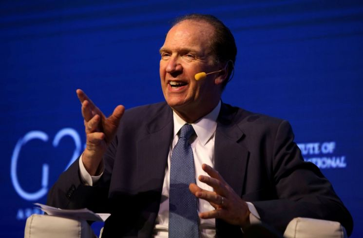 데이비드 맬패스 세계은행 총재. 출처=로이터 연합뉴스