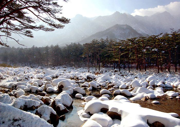 겨울 금강산