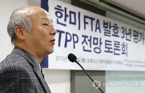 박석운 한국진보연대 대표