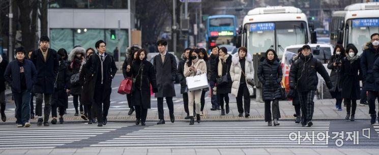 [포토]설 연휴 뒤 출근하는 직장인들