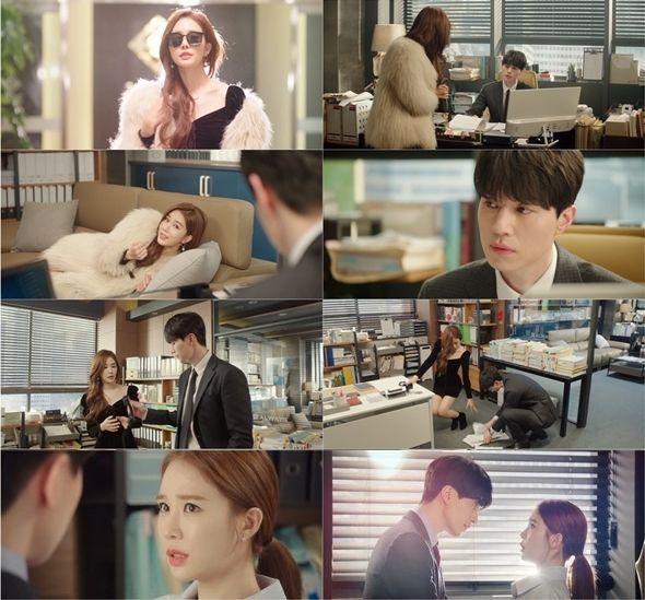 '진심이 닿다' 출연 이동욱과 유인나 / 사진=tvN