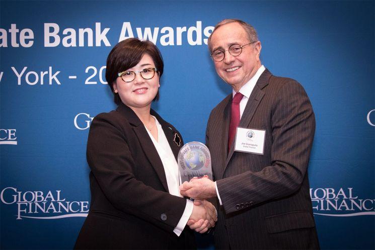 하나은행, 글로벌 최우수 디지털 클라이언트 솔루션 PB은행상 수상