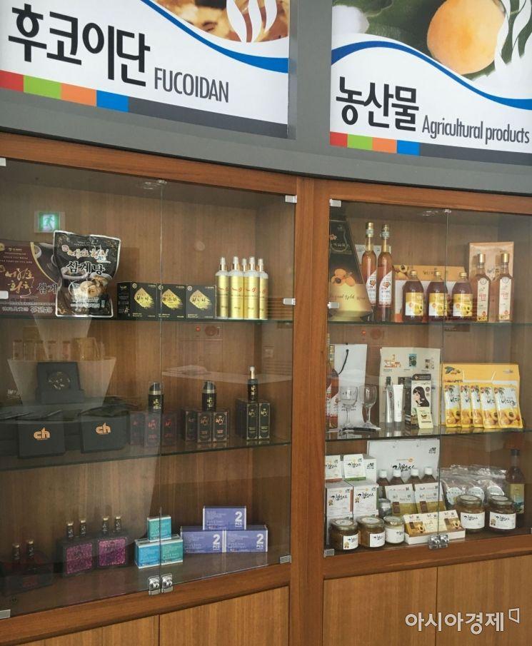 완도군 농·수산물 제품 150여 종 '인기'