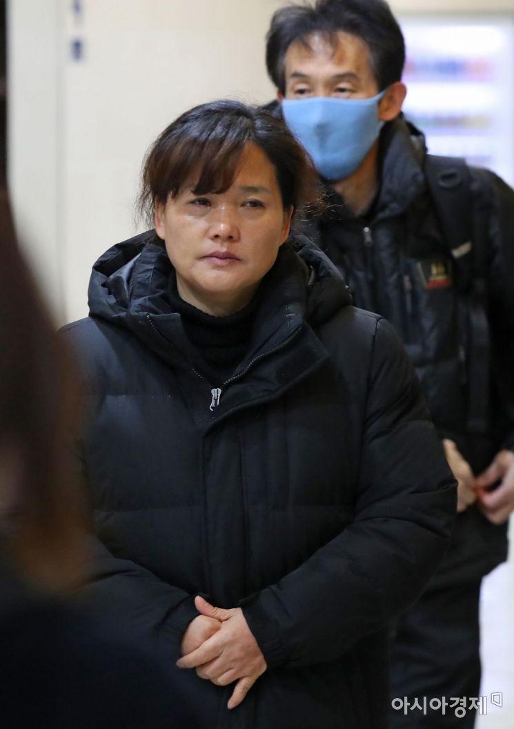 [포토] 고 김용균 씨 빈소 향하는 부모