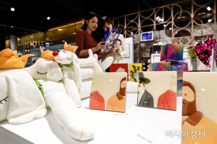 [포토]신세계백화점, 프린트 베이커리 개최