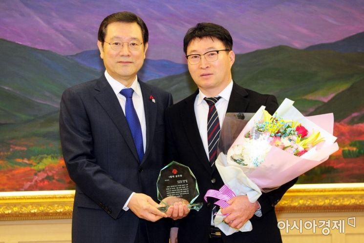 광주시 '1월의 공무원' 박준열 사무관 선정