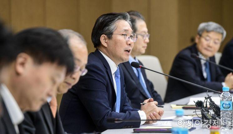 [포토] 모두발언하는 성윤모 산업부 장관