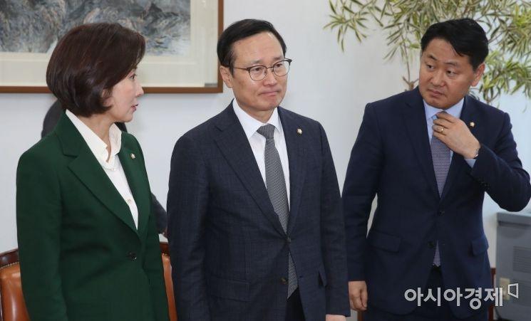 [포토] 국회 정상화를 위한 여야 원내대표 회동