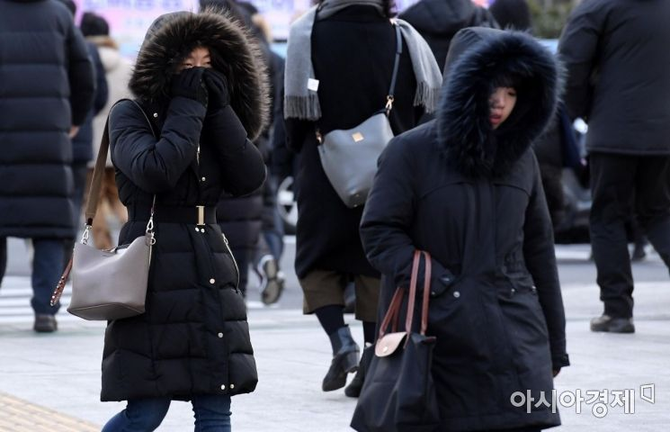 [포토] 견디기 힘든 추위