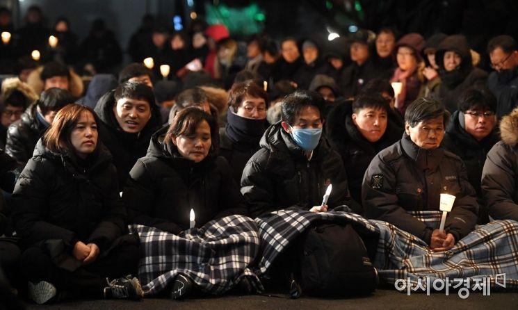 [포토] 비정규직 청년노동자 고 김용균 추모 촛불 문화제