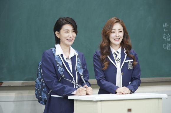 '아는 형님' 출연 배우 김서형과 오나라 / 사진=JTBC 방송 캡처
